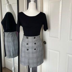 NEW LISTING!! Zara plaid mini skirt